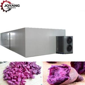 China Commercial Customized Hot Air Dryer Machine Purple Potato Drying Machine on sale