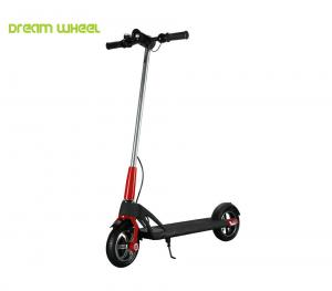 China Red 8 Inch Two Wheeled Mini Electric Scooter With Aircraft Aluminum Alloy on sale
