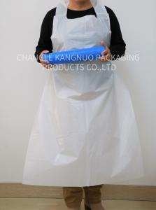 China Nursing Care Disposable Medical Aprons In Hospital , Throw Away Aprons on sale