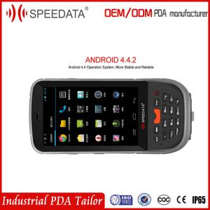 China GPRS Wireless Fingerprint Reader Handheld PDA Devices Bluetooth 4G Sim Card on sale