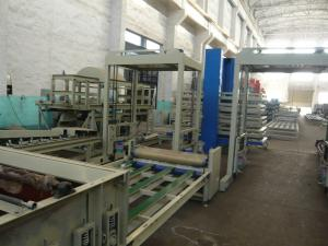 China Waterproof Mgo Sandwich Lightweight Wall Panel Machine for Housing Building Heat Insulated on sale
