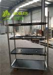 Dutch Trolleys CC Racks PVC Shelf  Flower Carts Greenhouse Trolley Plant Cart