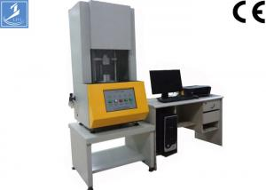 China Moving die rheometer,Single Phase Rubber Testing Equipment , Electronic Mooney Viscometer on sale