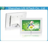 White 10 Inch 1000 X 800 Hd Digital Photo Frame Digital Photo Display Multifunction