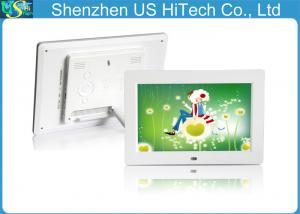 China White 10 Inch 1000 X 800 Hd Digital Photo Frame Digital Photo Display Multifunction on sale