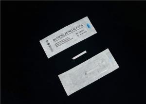 China White Disposable Hair Stokes 18 U Eyebrow Microblading GAMA Sterilized on sale