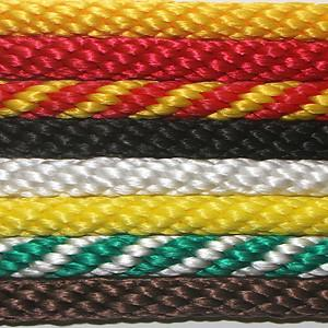 China General Purpose 6mm-12mm nylon solid braid utility rope on sale