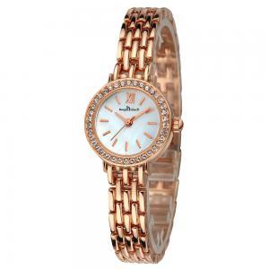 China Custom logo luxury ladies wrist watch quartz female women watches wholesale on sale