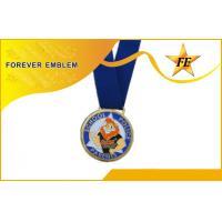 Gold / Silver / Copper Metal Medals Athletic Contest Souvenir Metal Medallion