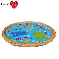 China Popular 0.23mm PVC material inflatable baby water play mat on sale