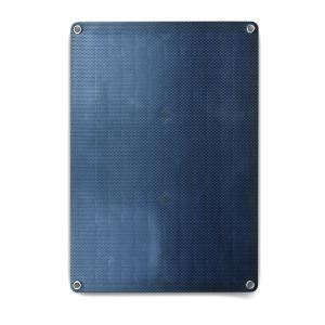China UV Resistant 18W Mono Solar Panels Black Surface With Self Cleaning Capacity on sale