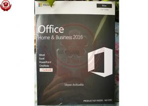 China Microsoft Office 2016 Home And Business For Mac  Installation 100% Activation on sale