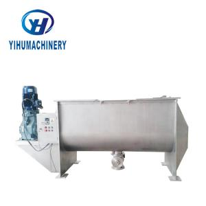 China 22KW Paint Horizontal Ribbon Mixer Stainless Steel 304 Material on sale