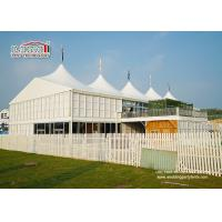 20x30m Outdoor	High Peak Tents  With Double Decker For 500 People Event Function