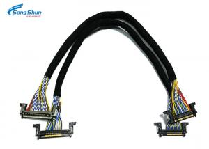 China JAE FX15S 51Pin LVDS HDMI Cable Communication Wire Hanrness Bare Copper Conductor on sale