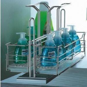 China Kitchen Cabinet Organizer, Storage Baskets, Clear-liquid Rack, Laundry Rack, Wire Basket on sale