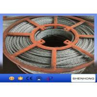 15mm Hexagon Galvanized Steel Wire Rope 12 Strands Anti Twisting