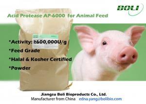 China Aspergillusniger Fermentation Animal Feed Enzymes 60000U / g High Purity 8% Moisture on sale