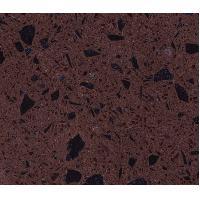 Dark Crystal Purple Polished artificial quartz stone countertops / slab / tiles