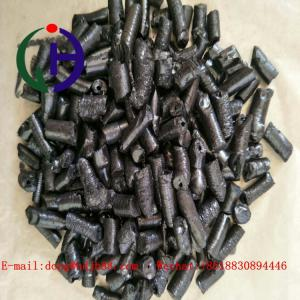 China Black Granule Modified Coal Tar Pitch For Stemming 28-32 Toluene Insoluble supplier