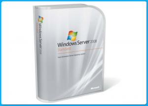 China Microsoft Windows sever 2008 Softwares , Win Server 2008 Standard Retail Pack 5 Clients on sale