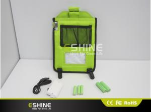 China 60LM  solar charger bagsolar ad charger  with led camping light on sale