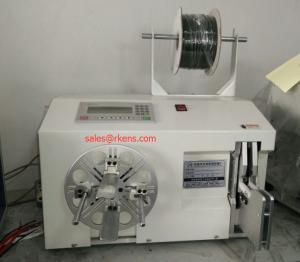 China コイル巻線機械/自動ケーブル ワイヤーねじれタイ機械をワイヤーで縛って下さい on sale