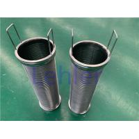 Stainless Steel Material Wire Mesh Filter Element For Nippon Paint 120 Micron