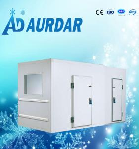 China Double temperature cold room , half freezer and half refrigerator walk in freezer on sale