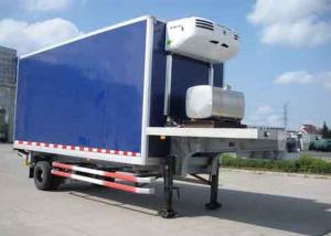 China 30 Foot 1 Axles Refrigerated Cargo Trailer , Transport Refrigerated Box Trailer on sale