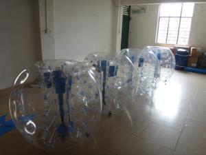 Quality bola de parachoques inflable de los puntos de encargo de 0.8m m for sale