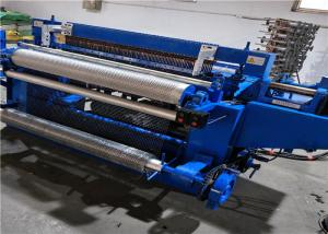 China Full Automatic Welded Wire Mesh Roll Welding Machine For 0.8-1.5mm Wire Diameter on sale