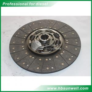 China Brand new Dongfeng truck Renault engine parts clutch disc 1601130-ZB601 on sale