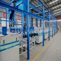 China Automatic Electroplating Plant for Rotogravure Cylinder on sale