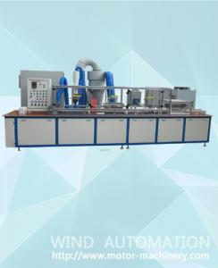 China Automatic Armature rotor stacks electrostatic Powder coating machine AKZO NOBEL resin insulation on sale