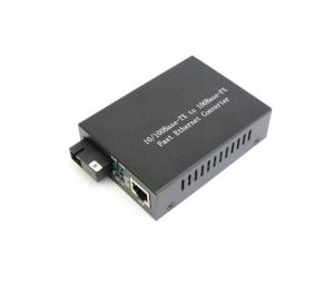China 1550nm 10 / 100M Single Mode Optical Fiber Media Converter 20km on sale