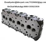 Aluminum / Steel Auto Engine Parts Aftermarket Cylinder Head Replacement 2L / 3L