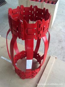 China Hinged Bow Spring Centralizer Oil And Gas  4mm Thickness With Different Collar on sale