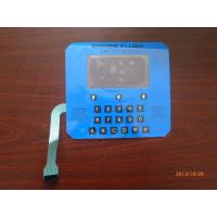 Miniature Flexible FPC Single Keypad Membrane Switch Tactile Type 0.3mm - 1.5mm
