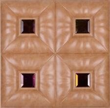 bedroom decoration PVC Tiles 3D wall tiles interior fire resistant ...