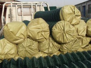 China Metallic coatings for Galvanized Chain Link Fence Fabrics on sale