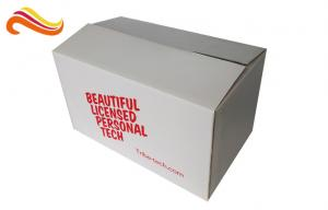 China Folding Shipping Corrugated Carton Box Customized Size With Matt Lamination Finishing on sale