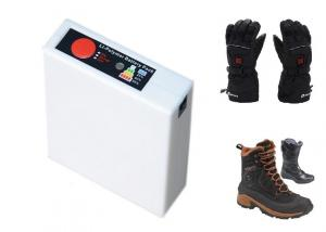 China 3.7V 3000mAh Li-ion temperature adjustable heated gloves Li-ion Battery Packs on sale