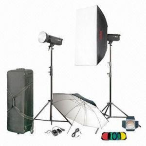 China Studio flash light kit/monolight kit, photography equipment, photography lighting on sale