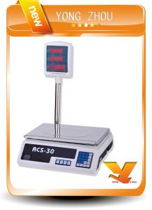 China 30kg-40kg Electronic Price Computing Scale With Arm YZ-208+ on sale