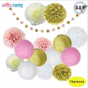 Birthday party wedding decoration items set paper ball paper quality birthday party wedding decoration items set paper ball paper string junglespirit Choice Image