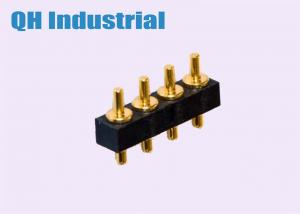 China Electric Bicycle SMT DIP 2Pin 3Pin 4Pin to 8Pin Brass Single Head Spring Load Pogo Pin Power Cellphone Watch Connector on sale