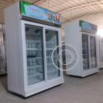 OP-A407 OPPOL Brand Single-temperature Supermarket Two Glass Door Fridge