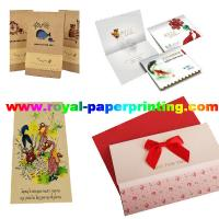customize die cutting and colorful postcard/wedding card/thank you  card