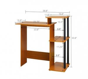 Quality Durable Modern Wooden Computer Desk , Home Wood Computer Table  DX 8902 For Sale ...